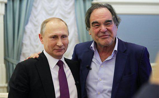 Володимир Путін і Олівер Стоун