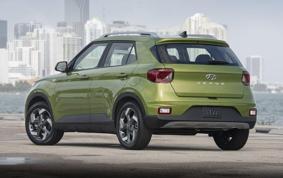 Длина Hyundai Venue составляет менее 4000 мм