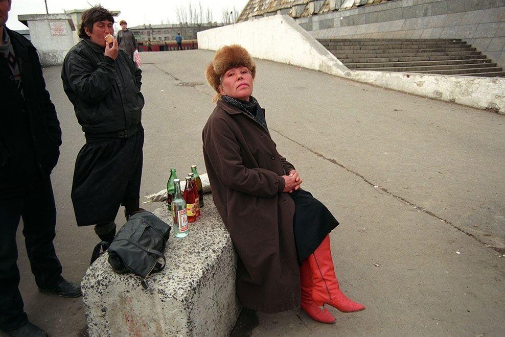 Распитие алкоголя на улице
