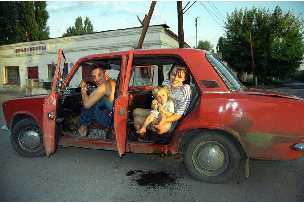 Россияне в авто