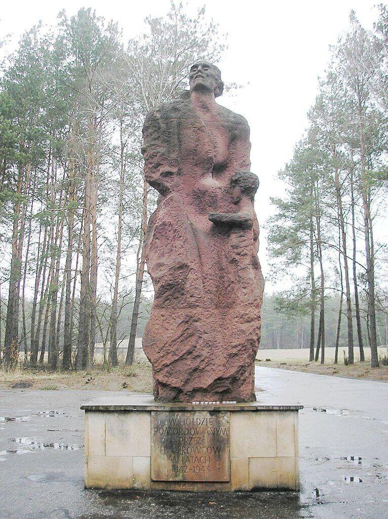 Памятник на месте концлагеря Собибор