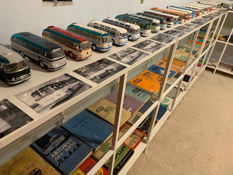 Колекція автобусів ЛАЗ у США