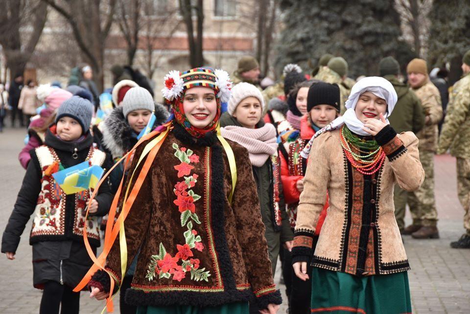 На Донбассе отметили День Соборности