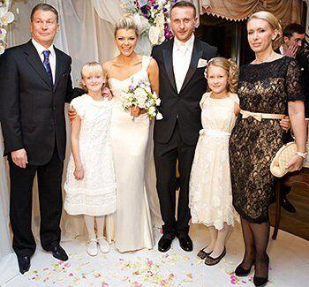 Олег Блохін з дочками