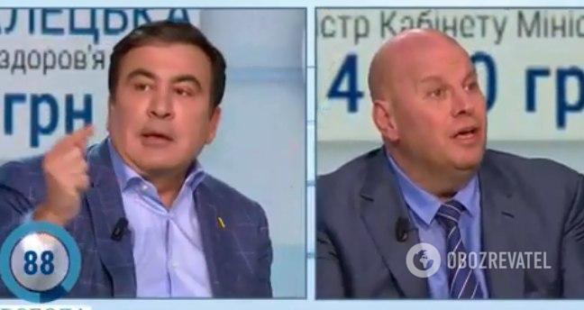 Бродский раскритиковал Саакашвили
