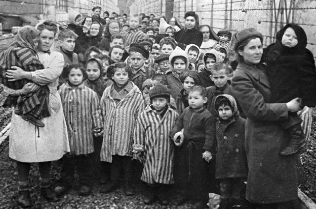 Дети в концлагерях Третьего Рейха