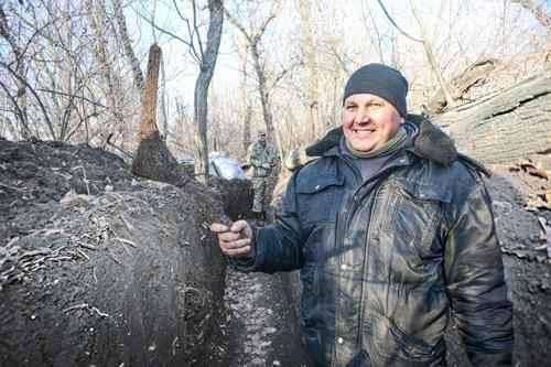 Погибший боец 56-й отдельной мотопехотной бригады Василий Муха