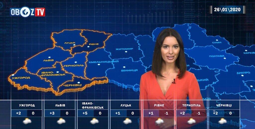 В Україну прийде весняне тепло: прогноз на 26 січня від ObozTV