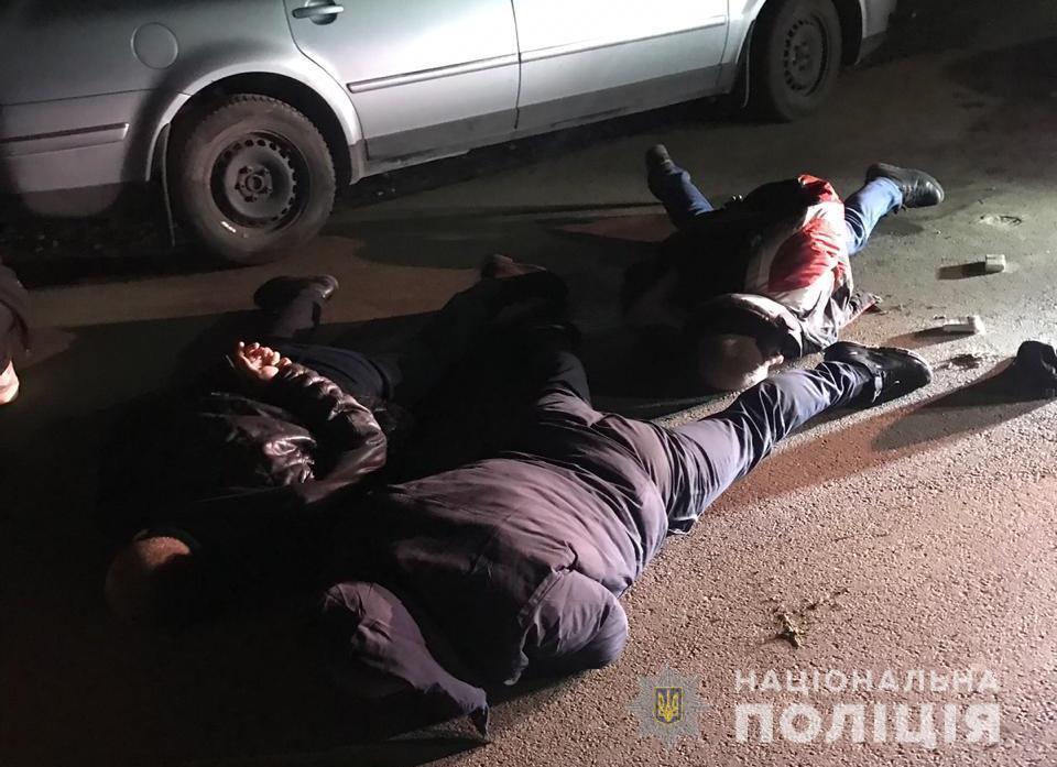 Затримання поліцейського