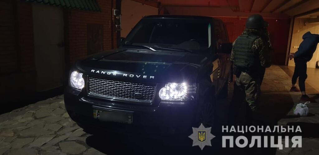 Затримання поліцейського в Києві