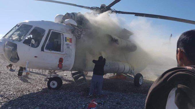 В Афганистане ударили ракетой по вертолету с украинцами