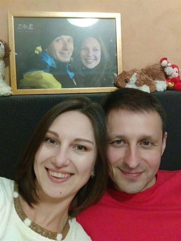 Экс-пленный с женой