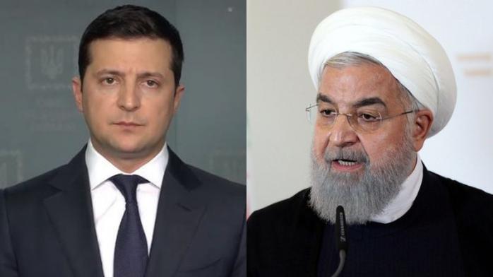 Зеленский долго сохранял молчание и тесно контактировал с Рухани