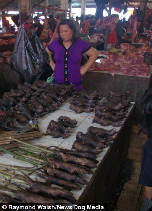 Жахливий ринок в Індонезії