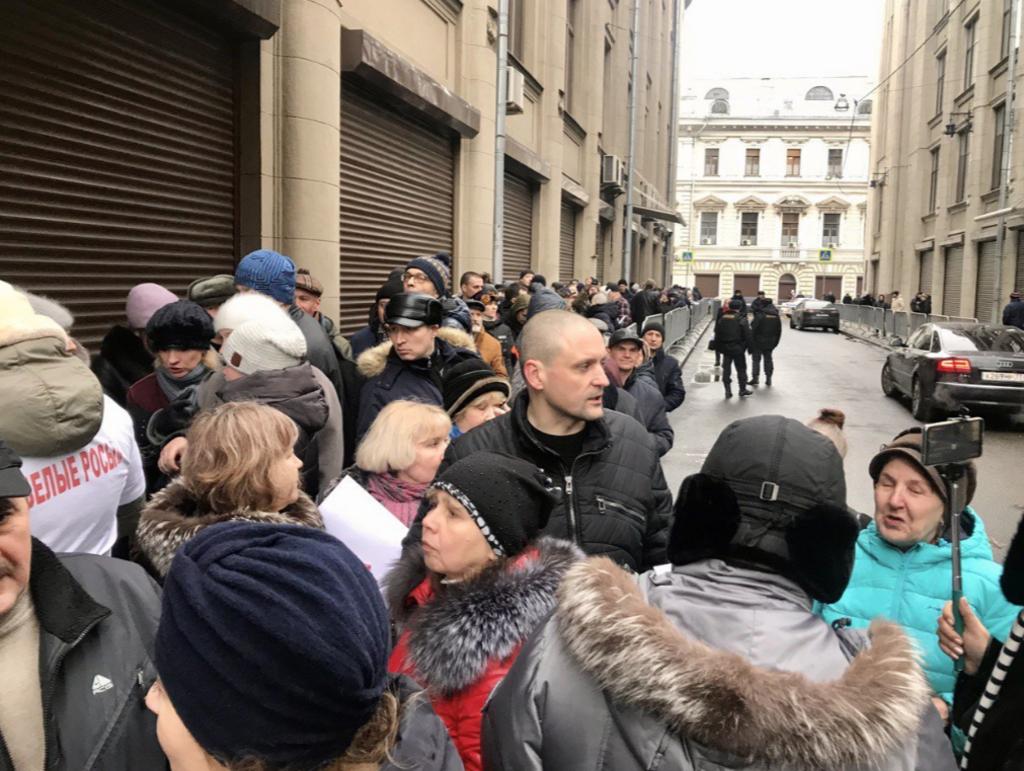 Гіркін і активісти вийшли на протест проти Путіна