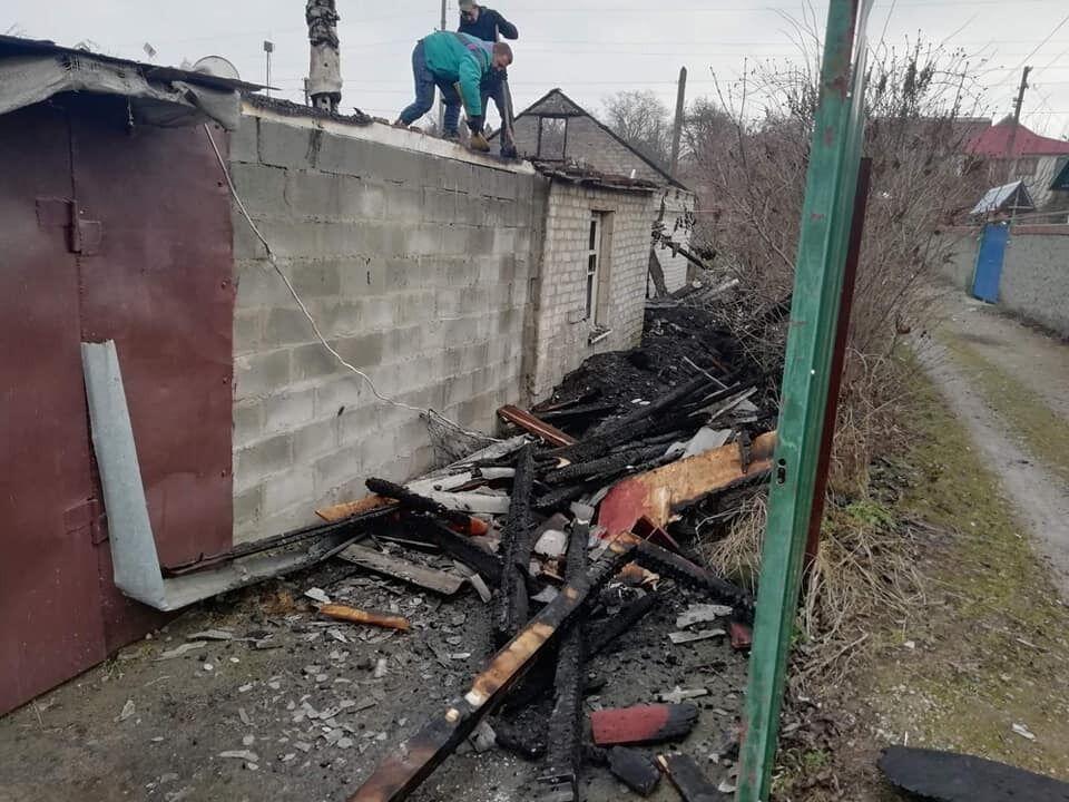 Сгорел дом, в котором жила семья