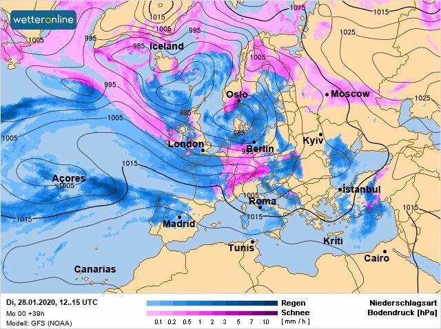 На Україну насувається потужний циклон