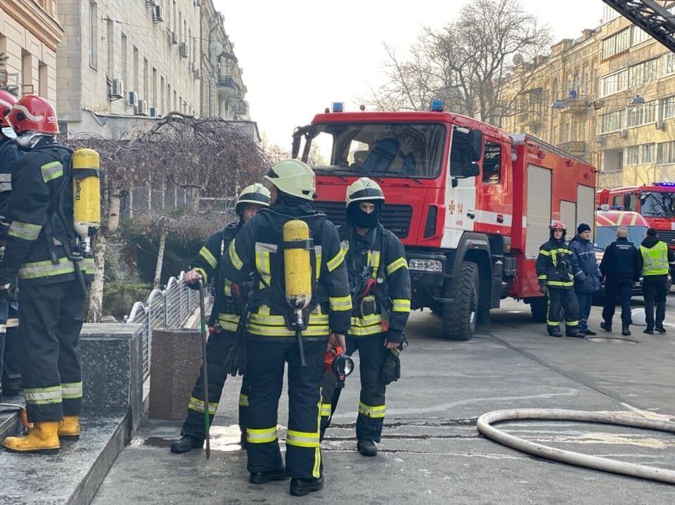 Всех сотрудников министерства эвакуировали