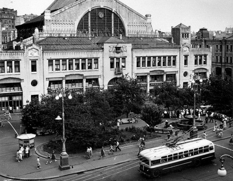 Бессарабский рынок в 1960 году