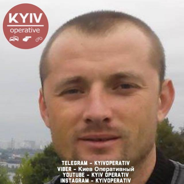 Ймовірний стрілок, який поранив поліцейського у Києві