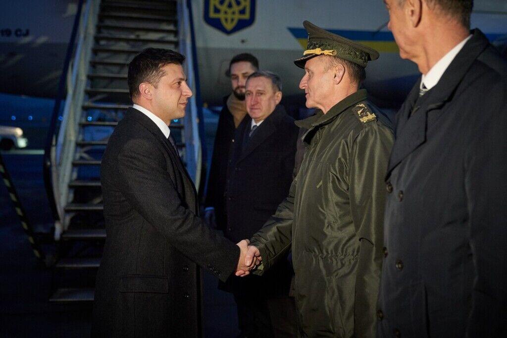 Рабочий визит Зеленского в Республику Польша