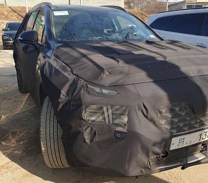 Новий Hyundai Santa Fe 2020 нагадуватиме Hyundai Palisade