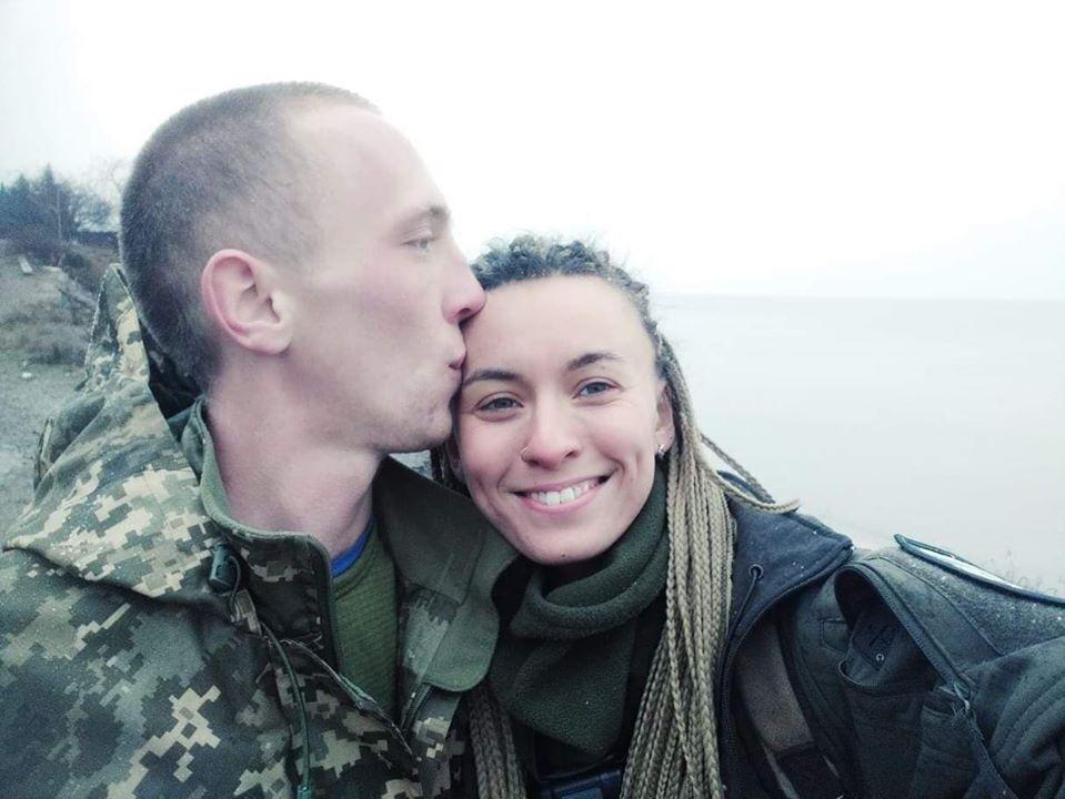 Загиблий Микола Сорочук і Ярина Чорногуз