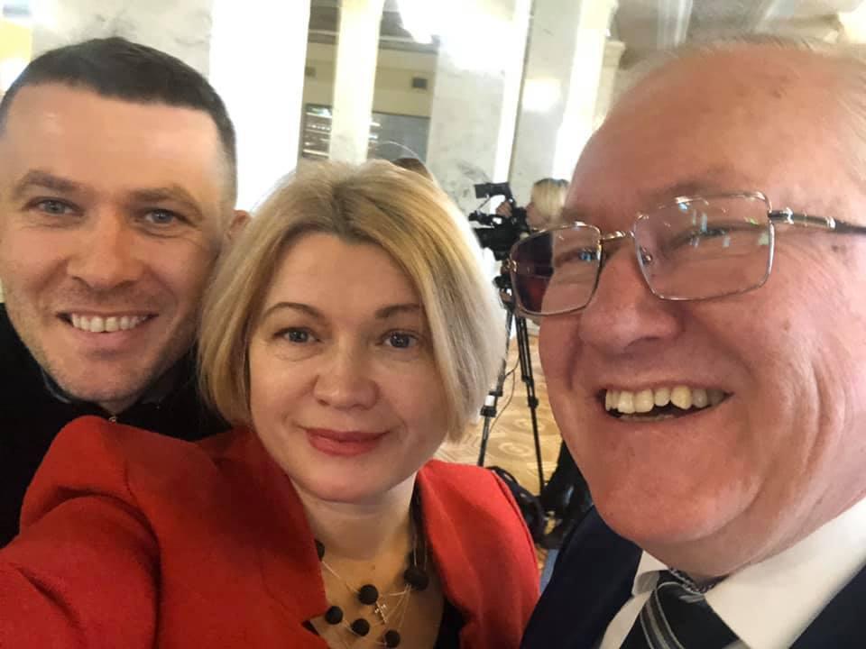 Борис Тарасюк (справа) стал постпредом Украины в Совете Европы