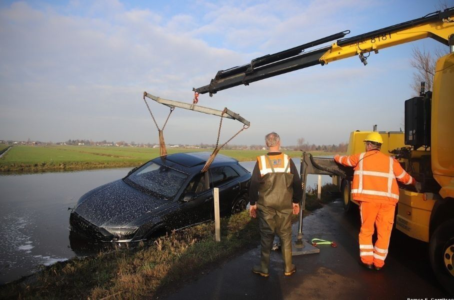 Утопленный Audi RS Q8