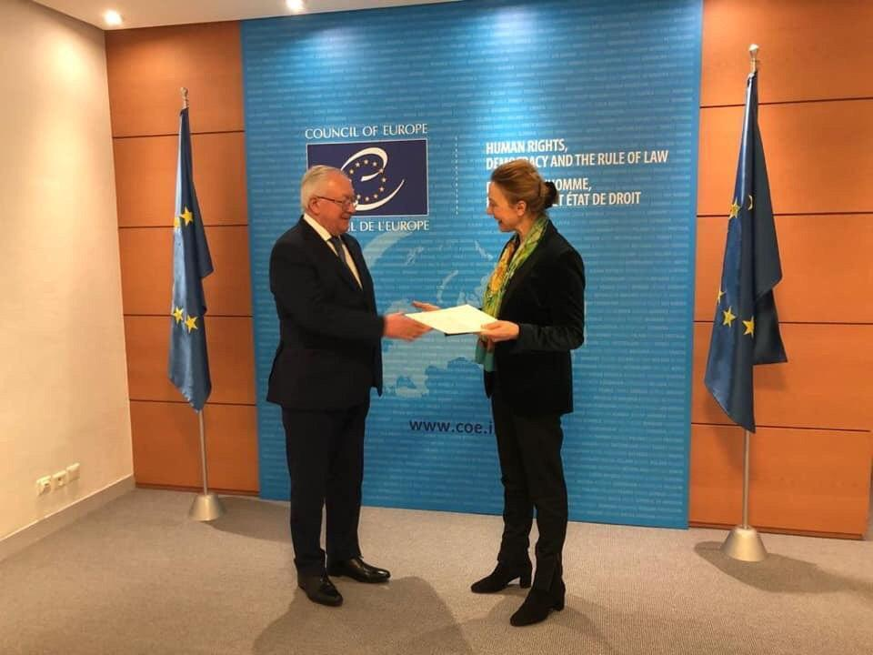 Бориса Тарасюка назначили постпредом Украины в Совете Европы
