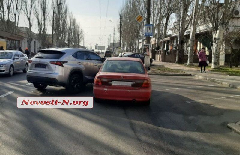 ДТП с нардепом в Николаеве