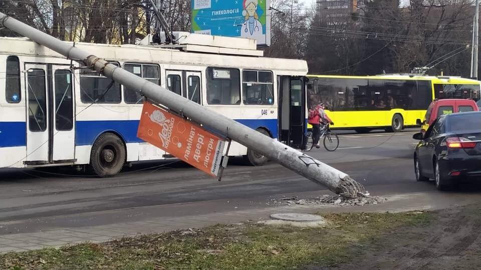 ДТП во Львове