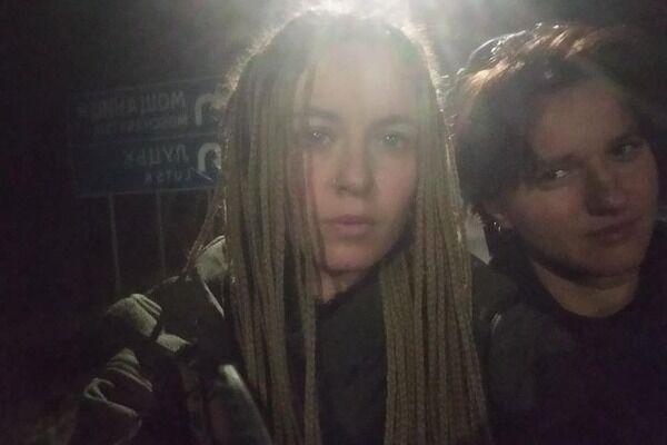 Ярина Чорногуз із подругою попросили водія вимкнути російський серіал у автобусі
