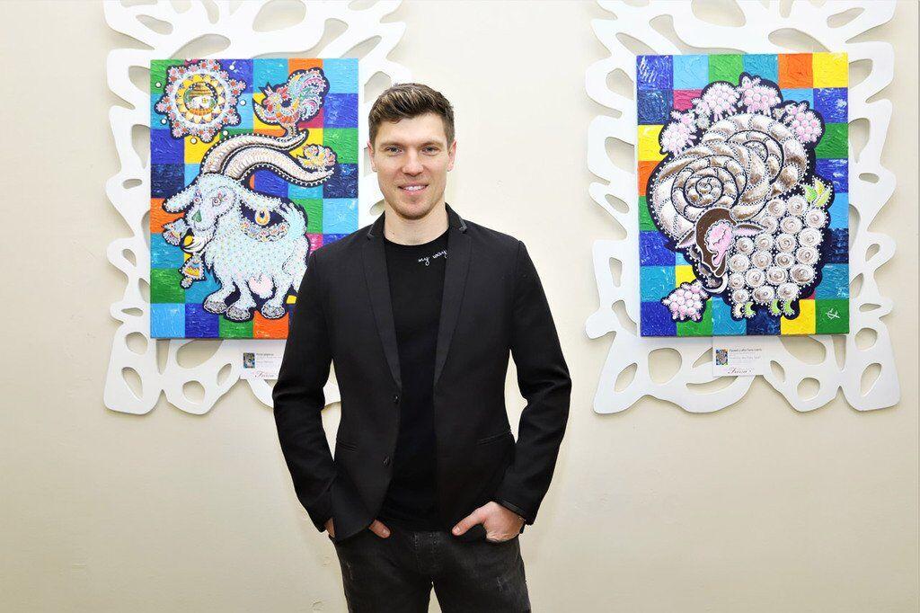Відкрилася персональна виставка Оксани ФУРСА # AURUM