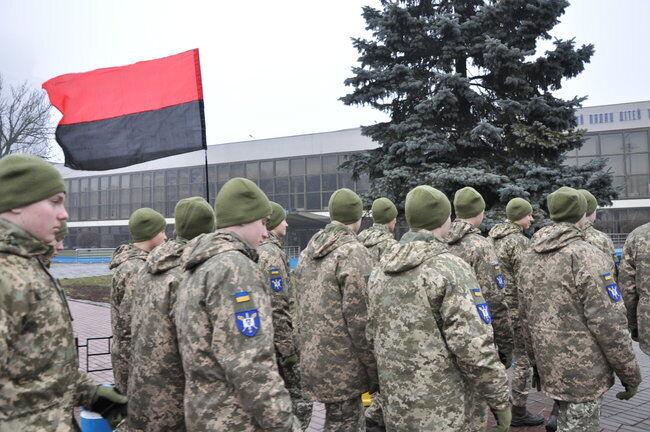 В Киеве в День памяти Героев Крут, 29 января, начался марш памяти Героев Крут