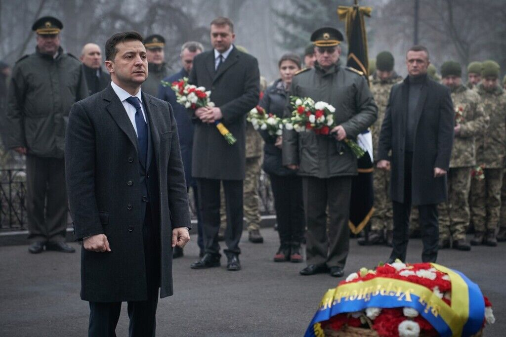 Зеленський вшанував пам'ять Героїв Крут