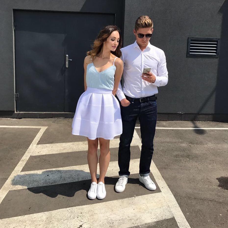 Елена Войченко и Владимир Остапчук