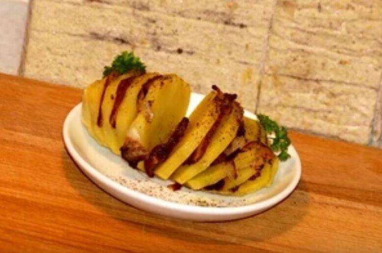 Рецепт швидкого приготування приголомшливої картоплі з салом