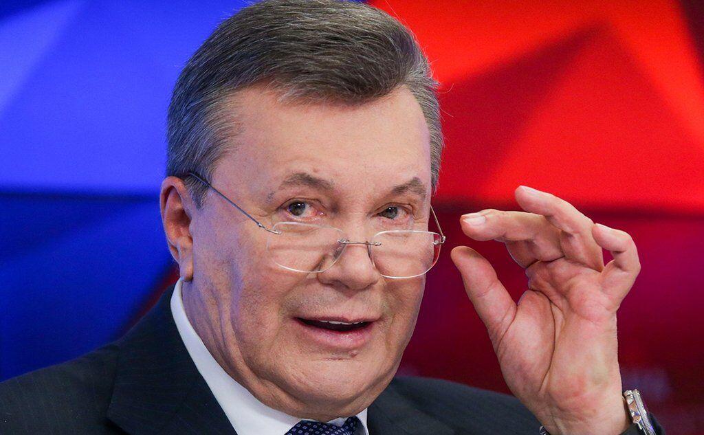 Виктор Янукович сейчас живет в России