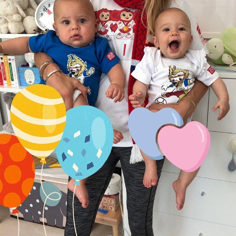 Дети Анны Курниковой