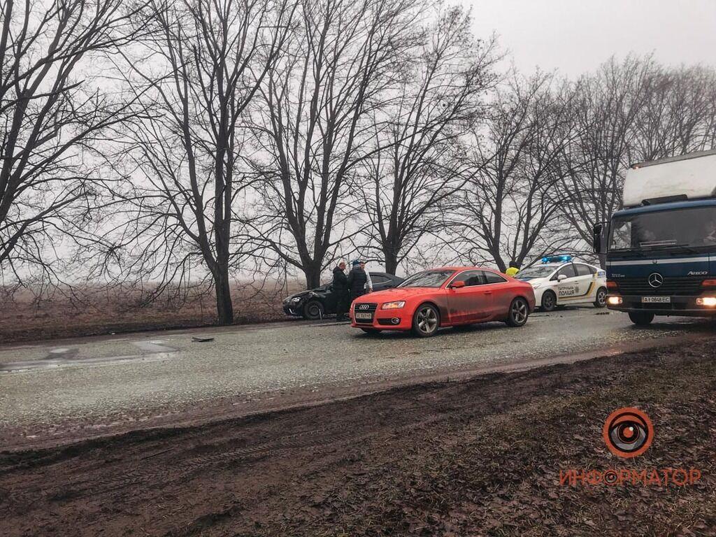 ДТП на Криворожской трассе