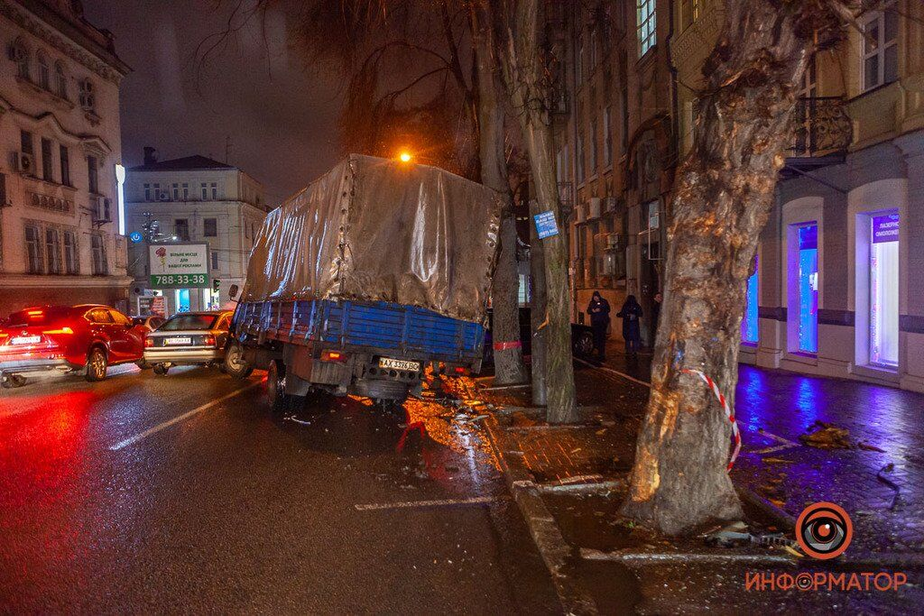 ДТП с грузовиком в Днепре