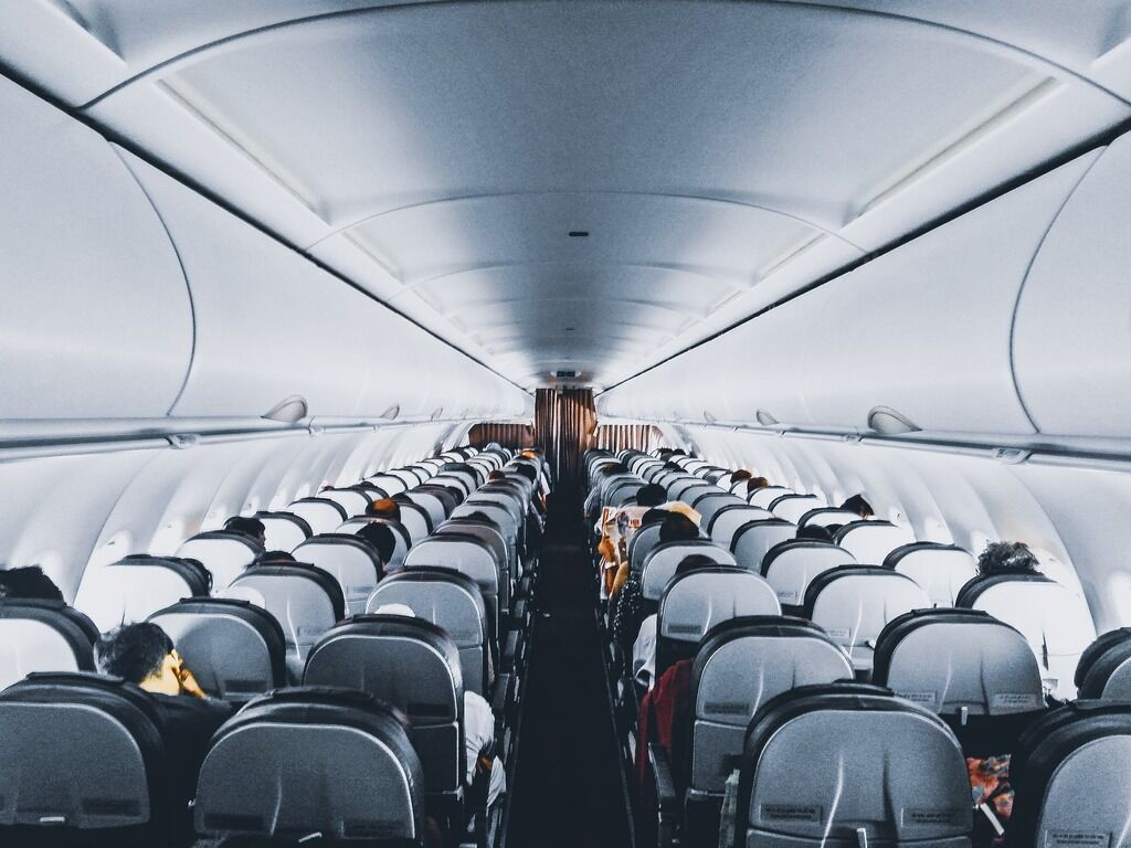 Картинки в самолете без людей