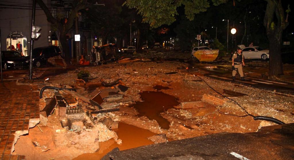 Наводнения в Бразилии