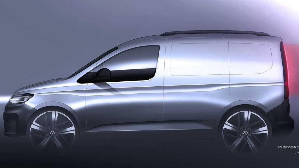 VW Caddy 2020 року - офіційні тизери