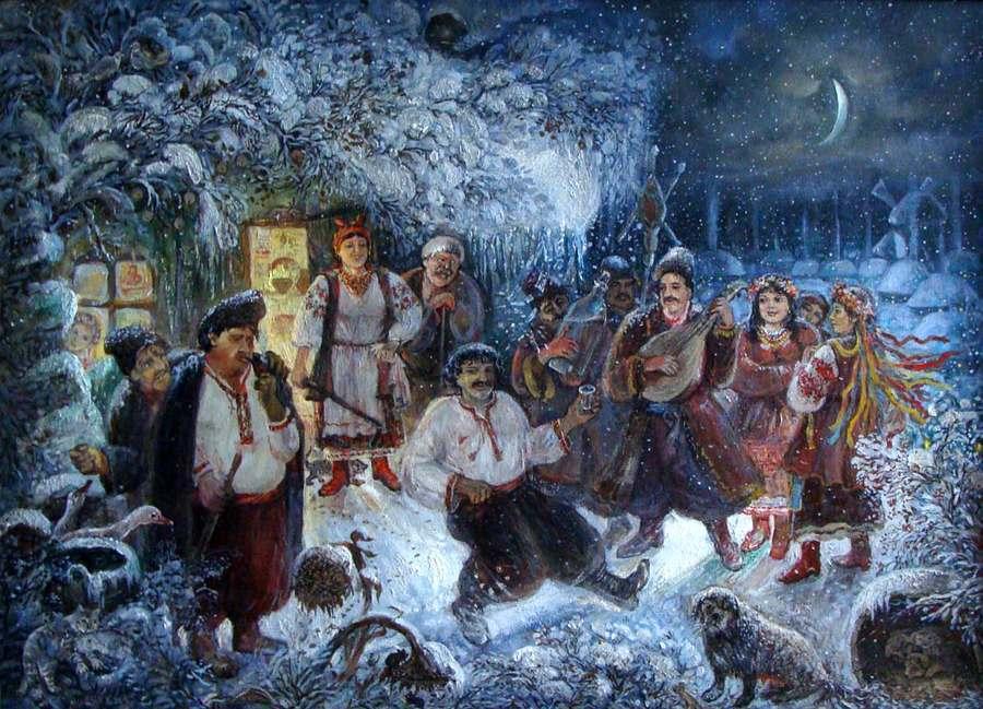 пока картинка славянское рождество что