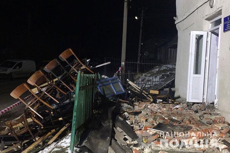 На Тернопільщині вибухнув сільський клуб