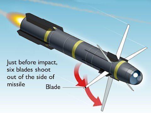 Ракета AGM-114 Hellfire