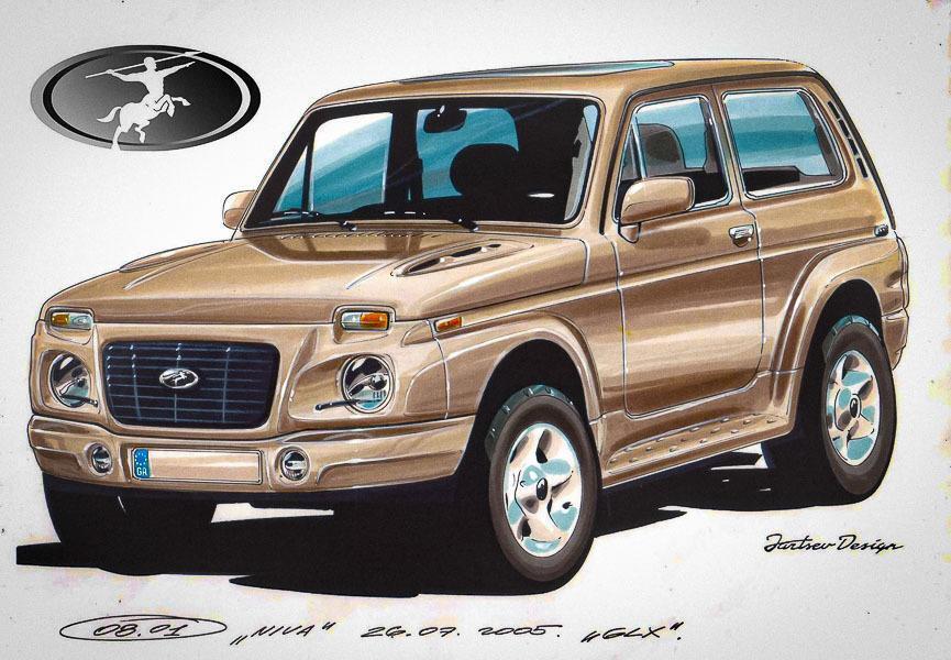 Lada 4x4 - грецький проект
