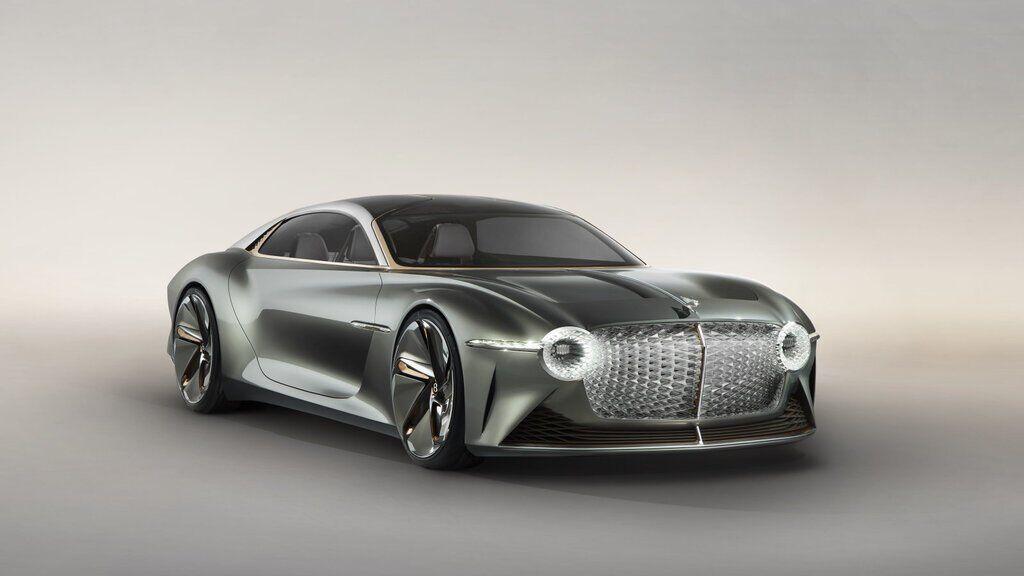 Концепт електромобіля Bentley EXP 100 GT
